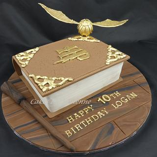 Harry Potter Spell Book Cake - Cake by Cakes by Vivienne
