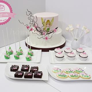 Tinkerbell  - Cake by Piece of Cake-homemade peace
