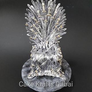 Game of thrones - Cake by Vinita Lobo