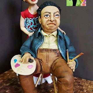 """Colaboracion """"primavera con arte"""" Diego Rivera"""