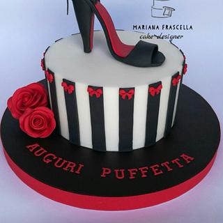 Shoes cake - Cake by Mariana Frascella