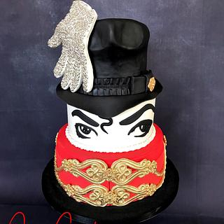 Michael Jackson cake - Cake by Cake Garden