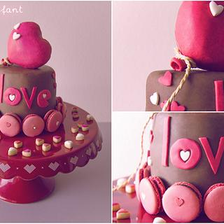 Love heart balloon