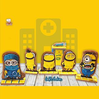 MINIONS the revenge, collaboration for the Sugarjunkies