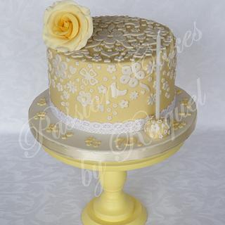 Elegant Cake Lace