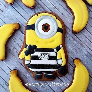 Minion and bananas