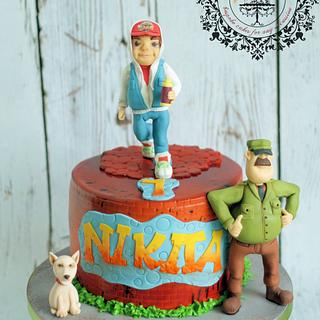 Subway Surf cake