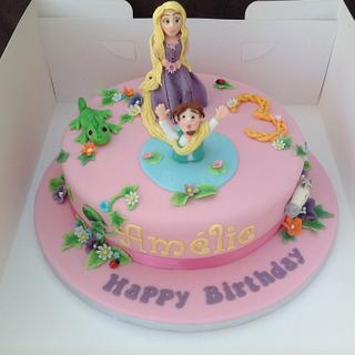 Tangled Cake - Cake by Deborah Cubbon (the4manxies)