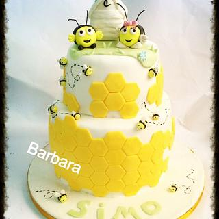 House of bees - Cake by Barbara Casula