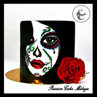 Sugar Skull Cake - Cake by Passion Cake Málaga