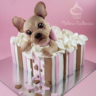 Dogy cake :)