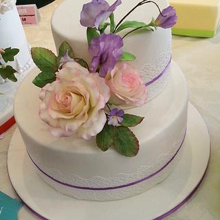 My first flower cake :) - Cake by Federica Mosella