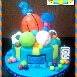 Sport Balls cake