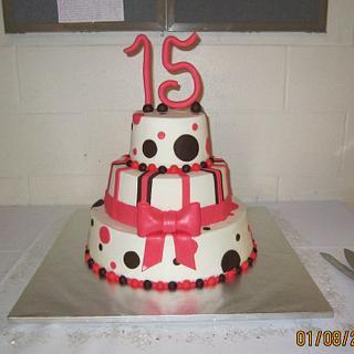 Destiny's Quinceanera Cake
