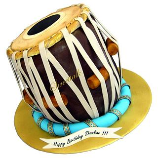 Tabla Cake (Classical Indian percussion instrument)