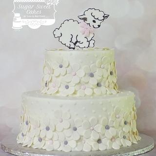 Little Lamb - Cake by Sugar Sweet Cakes