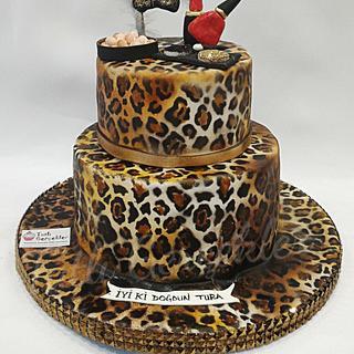 Leopard cake - Cake by Özlem Avcıkurt