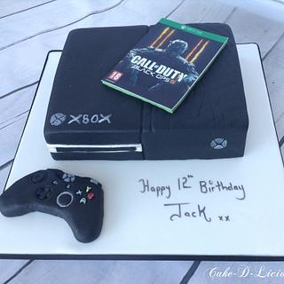 XBOX ONE 12th Birthday Cake