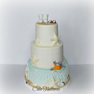 Commercial Fishing Wedding Cake.