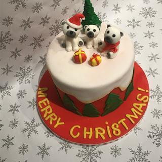 Christmas cake - Cake by Ilona