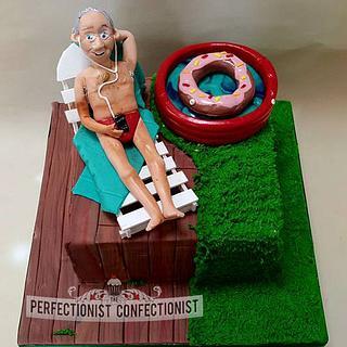 Sunbathin' - Birthday Cake