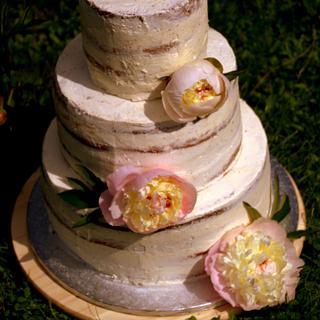 peony cake  - Cake by Jiřina Matějková