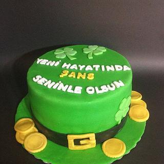 Luck Of the Irish Cake
