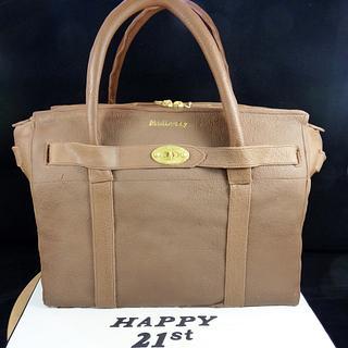 Mulberry Zipped Bayswater Handbag Cake