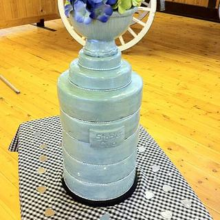 Stanley Cup wedding cake - Cake by cakesbymary