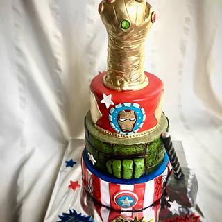 İnfinity war cake