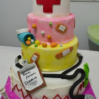 nurse cake - torta infermiera