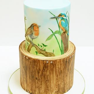 Birdwatching/woodwork tribute