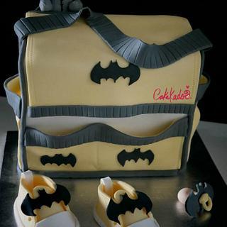 Batman Diaper bag - Cake by Cakekado