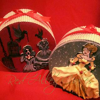 Grimm Cinderella  - Cake by Red Alley Cakes (Alison Rankin)