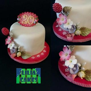 Another Floral Cake