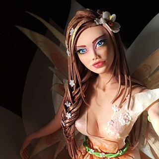 Spring fairy Collaboration  - Cake by Mania M. - CandymaniaC