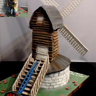 Pitstone Windmill....still head over heels!