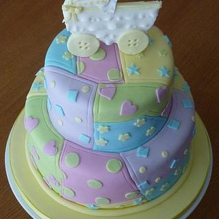 Kate's Baby Shower Cake