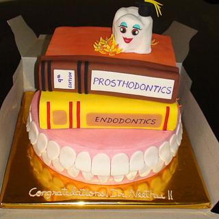 Graduation Cake....for & by a Dentist!! :)