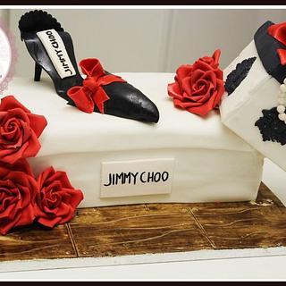 Gravity Defying Fashionista Cake!
