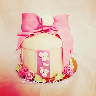 Shabby Chic - Cake by Flora e Decora
