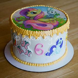 My Little Pony Birthday Cake - Cake by Jen
