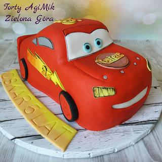 Lightning McQueen - Cake by Torty AgiMik