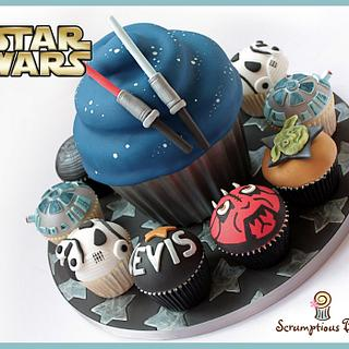 Big Cake Little Cakes : Star Wars