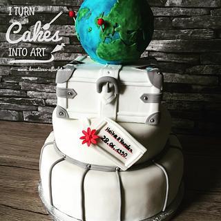 Cake for 25th wedding anniversary