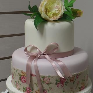 vintage rose - Cake by I do Vintage