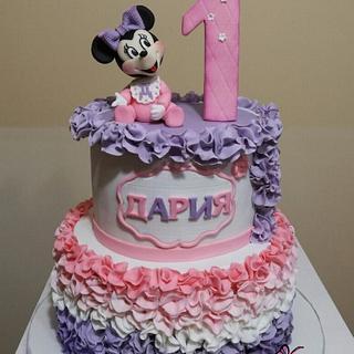 Minnie Mouse  - Cake by KamiSpasova