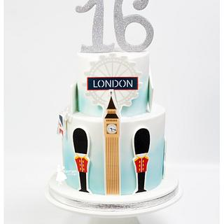 London cake and sweet 16