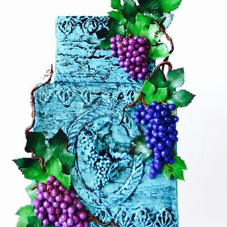 Grapes for Childen ~ Sugar Art for Autism Collaboration 2017 - Cake by Cake Heart