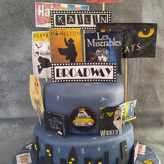 Broadway Cake for Kailin
